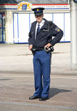 警察prinsjesdag 免版税库存照片