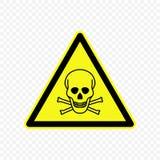 警报信号传染媒介例证 免版税库存图片