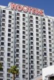 警报器赌博娱乐场和旅馆在拉斯维加斯,内华达 库存照片