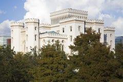 警棒国会大厦路易斯安那老胭脂状态 免版税图库摄影