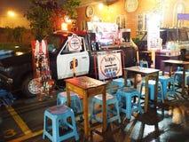 警车商店,泰国 库存图片
