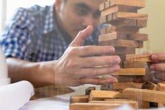 计划、项目管理风险和战略在建筑师a的 免版税库存照片