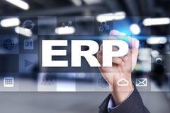 计划企业和技术概念的企业资源 库存照片