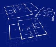 计划住宅的发展 免版税库存图片