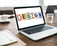 计划创造性概念的设计创造性的想法 库存图片