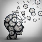 计划时间概念 库存例证