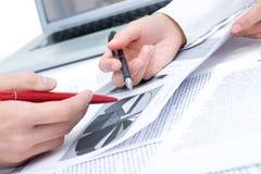 计划的工作 免版税库存图片