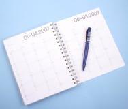 计划程序年 免版税图库摄影