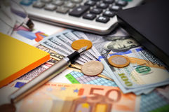 统计和分析 免版税库存图片