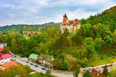 计数德雷库拉城堡 罗马尼亚 免版税图库摄影