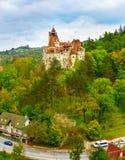 计数德雷库拉城堡 罗马尼亚 免版税库存照片