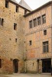 计数的城堡 卡尔卡松 法国 免版税库存图片