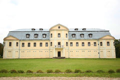 计数的庄园在Kraslava 免版税库存照片