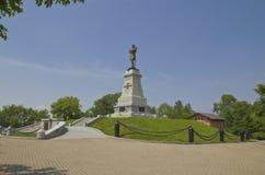 计数Muraviev-Amursky的纪念碑 免版税图库摄影