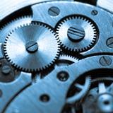 计时在技术做的机制定调子 库存照片