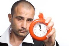 计时工作 免版税库存图片