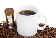 计时的中断咖啡 库存图片