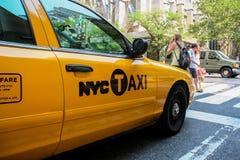 计程车 图库摄影