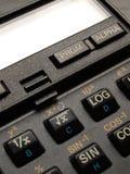 计算器关键字 免版税库存图片