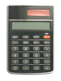 计算器接近  免版税库存图片