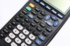 计算器注标 免版税库存照片