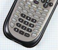 计算器科学的座标图纸 免版税图库摄影