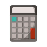 计算器算术学校器物 免版税库存图片