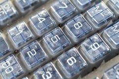 计算器键盘 库存照片