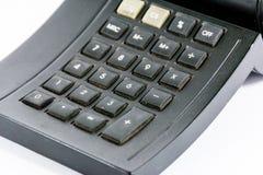 计算器黑色 库存图片