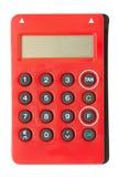 计算器TAN PIN发电器 库存图片