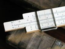 计算尺II 免版税库存图片