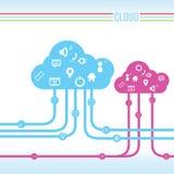 2010计算微软smau的云彩 免版税库存照片