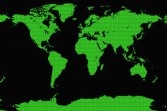 计算机世界 免版税库存照片
