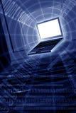 计算机世界 图库摄影