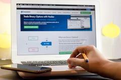 计算机个人投资家 免版税图库摄影