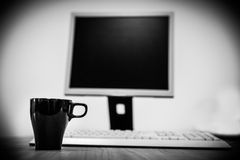 计算机个人计算机 免版税库存图片