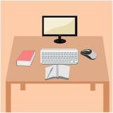 计算机例证概念 免版税库存图片