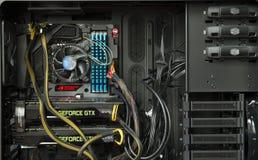 计算机内部 免版税库存图片