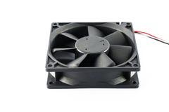 计算机冷却风扇 图库摄影