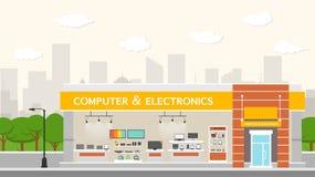 计算机和电子企业创办和内部 库存照片