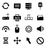 计算机和网络设备 免版税库存照片