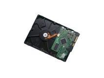 计算机困难的磁盘驱动器 免版税库存图片