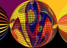 计算机图表颜色   免版税库存照片