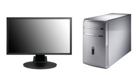计算机塔 图库摄影