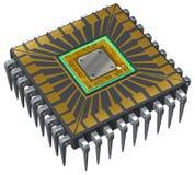 计算机处理器 皇族释放例证
