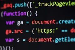 计算机婚姻页代码 库存图片