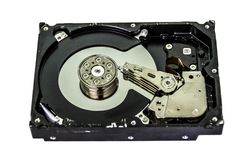 计算机存贮器-磁盘驱动器 图库摄影