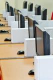 计算机实验室 免版税库存照片