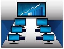 计算机室向量 免版税库存图片