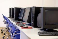 计算机室 免版税库存图片